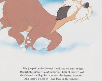 "Vintage Disney Print, 101 Dalmations, Childrens Art, Nursery Art, 11.25"" x 8.5"" , One Hundred and One Dalmations Print"