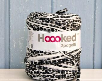 t-shirt yarn 135 yards, ecologic cotton, Zpagetti, Animal, recycled yarn, cotton yarn, elastic yarn
