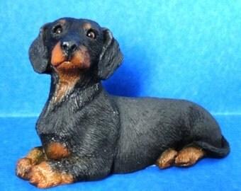 Dachshund Dog Figurine