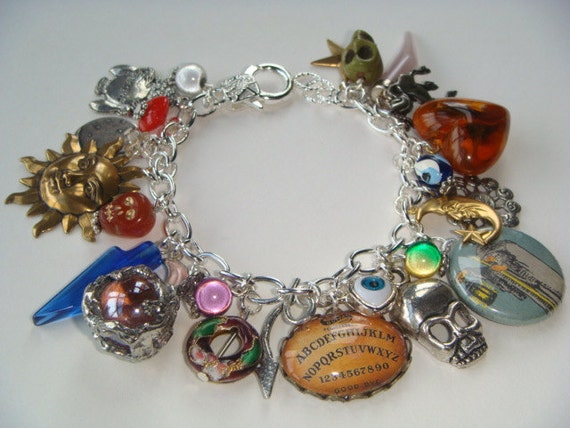Ouija Tarot Charm Bracelet Fortune Telling Tarot By