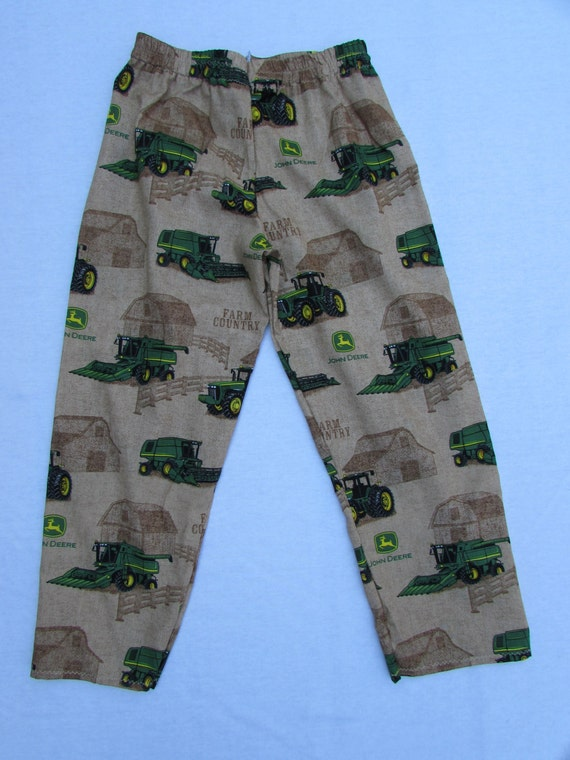 John Deer pajama cotton pants sizes 1/2T to XL men