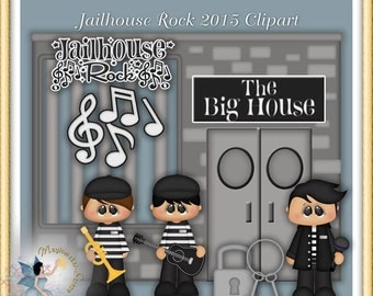 Rock and Roll Clipart, Prison, Jail, Jailhouse Rock 2015