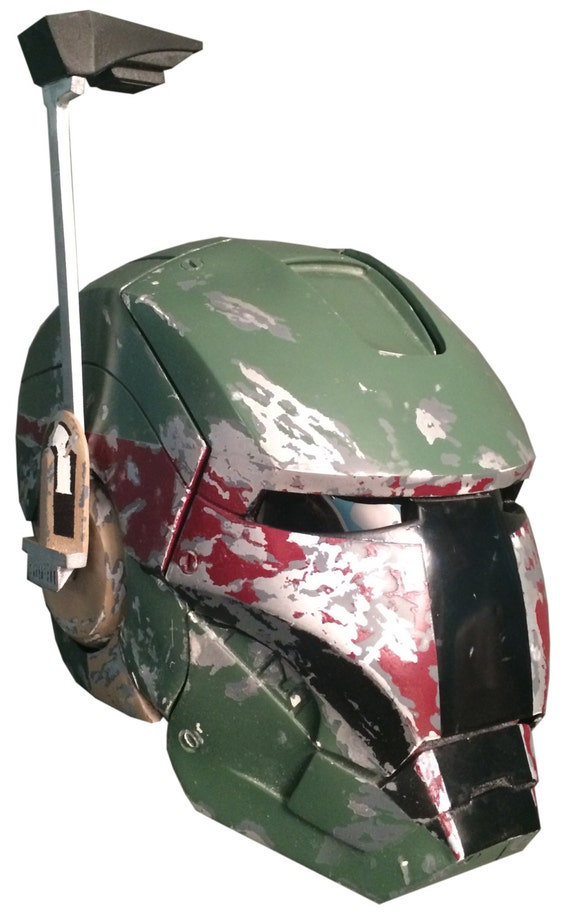 boba fett without helmet