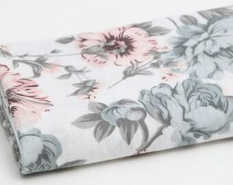 Slub Knit Fabric Pink By The Yard