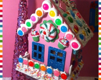 Candy land house.