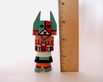 "Vintage Small Hopi Kachina Doll, 3.75"" Corn Dancer Katsina, Route 66, Native American, Southwestern Collectibles, Tihu dolls, ID 235876562"