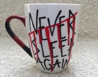 16oz. Never Sleep Again Freddy Krueger Mug