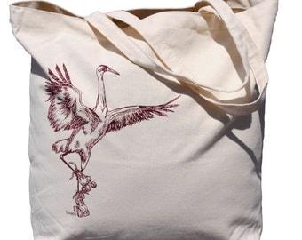 Gift Bags for Wedding Guests - Gift Bags for Bridesmaid - Beach Wedding - Bridesmaid Totes - Bridal Registry - Crane Canvas Beach Tote Bag