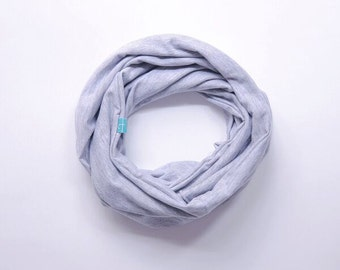 Classic grey Infinity Scarf, Infinity Scarf, Loop Scarf, Mother and Daughter scarf,  Eternity Scarf