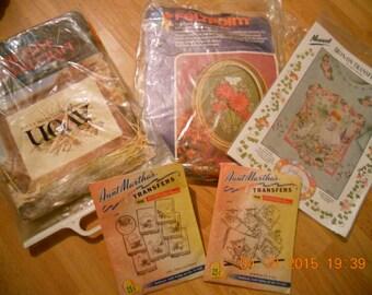 "Craft  grab pack - Lot "" Vintage """