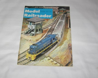 vintage october 1972 model railroader magazine
