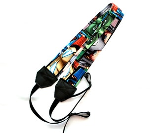 Marvel Avenger Eyes DSLR Camera Strap! This is a full strap not a cover! Standard Size
