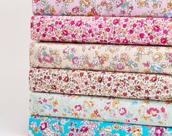 Fabric Fat Quarter Bundle Cottage Floral