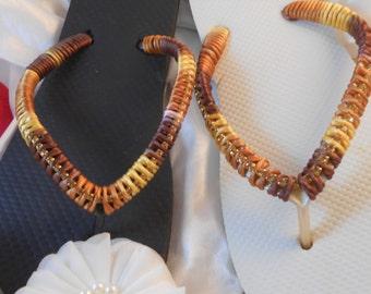 Havaianas Flip Flops Gold  Brown Black or White 2017 Designer Unique Wedding Accessories Crystals Bridal Gift sandals statement Fashion