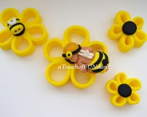 Popular Items For Fondant Bumble Bee On Etsy