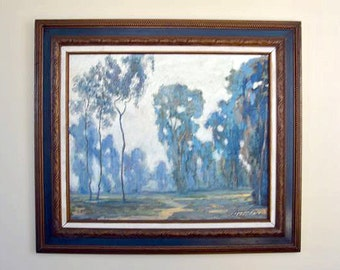 Original Oil on Canvas California Plein Air landscape painting by Greg Fritsche