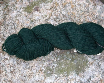 Forset Green- DK weight- Border Leicester yarn- 100% wool