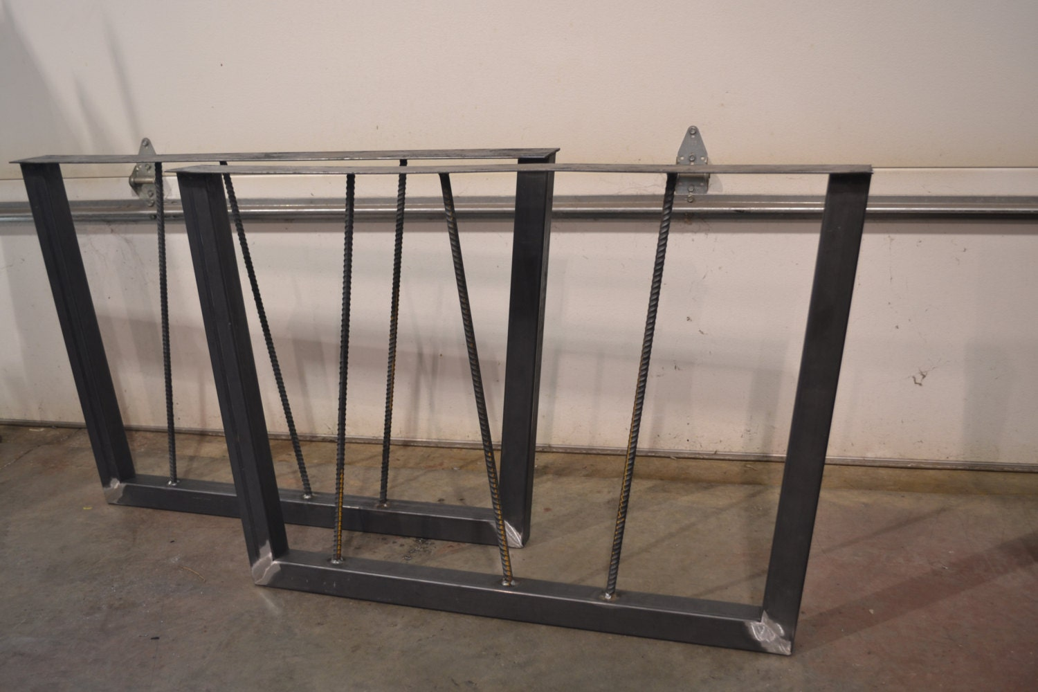 Houseofauracom Tapered Metal Table Legs Trapezoid 3x1