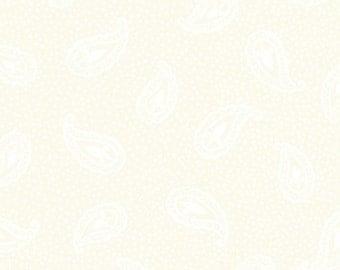 Marianna - 9MAR3, White/Cream - In The Beginning Fabric Yardage