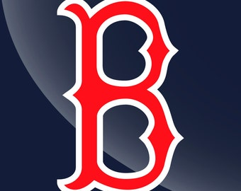 Boston Red Sox Decal Sticker 2 Color