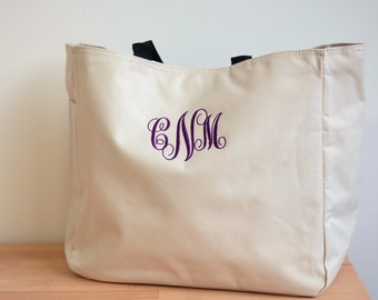 Bridesmaid Personalized Tote Bag, Monogram Wedding Tote, Bridesmaid Tote Monogrammed, bridal party totes, thank you gifts for coworkers