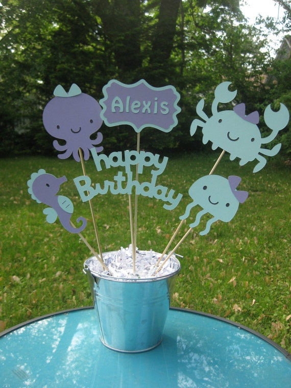 Under the Sea Party Table Centerpiece Under the Sea Birthday