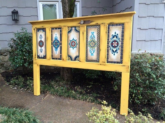 items similar to old wood door hand painted vintage