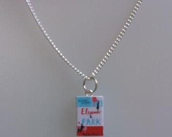 Eleanor and Park Book Novel Necklace