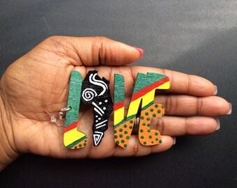 Handmade african earrings Etsy