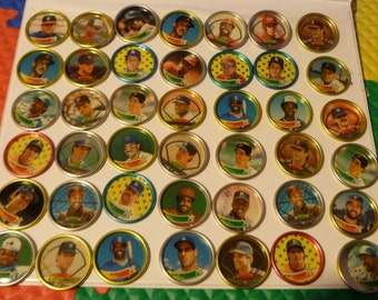 topps baseball coins 88 piece coins / minted 1988. 1989.