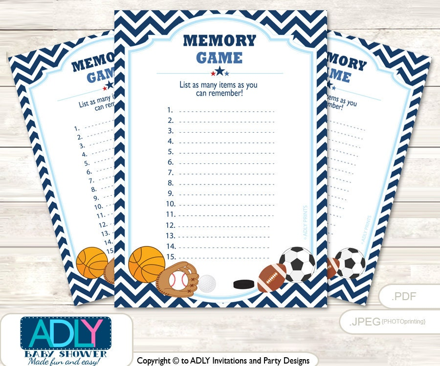 boy mvp memory game for baby shower printable card for baby