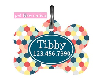 Personalized Pet Tag, Dog Tag, ID Tag, Pet Tag With Name And Phone Number