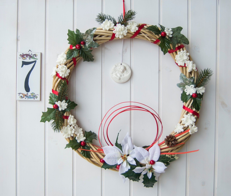 Ghirlanda natalizia di ampie dimensioni decorazione natalizia - Ghirlanda porta ...