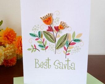 Best Savta - Best Grandmother Handmade Greeting Card