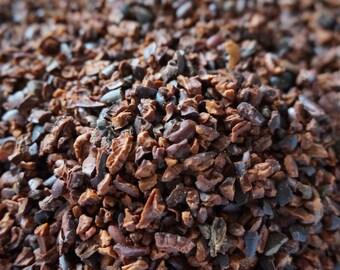 Cacao Nibs   Roasted   Organic Dried Herb   Theobroma cacao