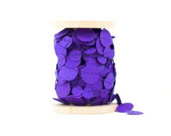 Violet Paper Garland