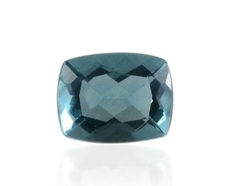 Blue Fluorite Cushion Cut Loose Gemstone 1A Quality 9x7mm TGW 2.15 cts.