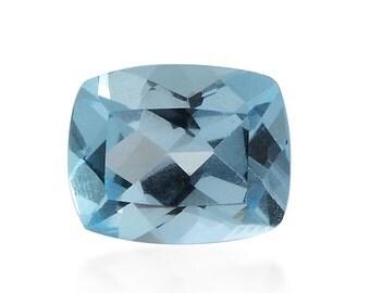 Sky Blue Topaz Cushion Cut Loose Gemstone 1A Quality 11x9mm TGW 4.50 cts.