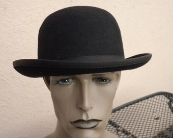 Size 7 1/4 ** 1920s Bowler / Derby Hat