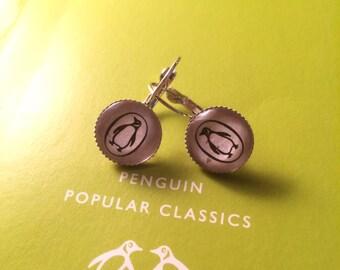 Penguin Classic Books  Earrings