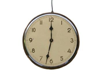 Large Wall Clock Vintage