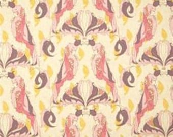 Pernilla's Journey Collection, Royal Parrot in Lemon Creme by Tina Givens 4113