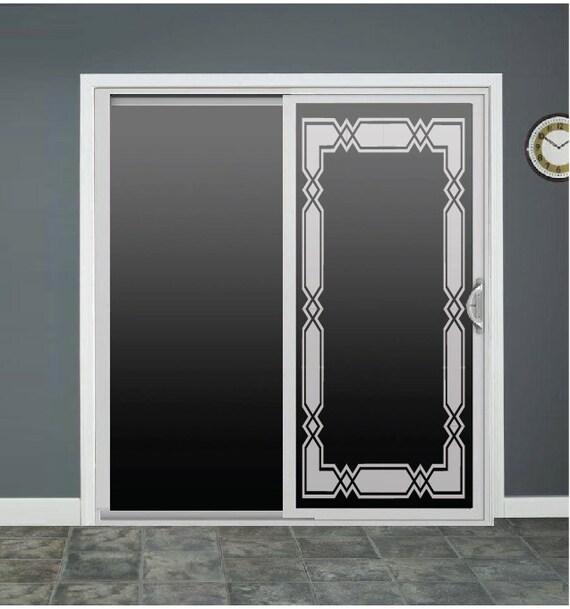 Sliding Glass Door Decals