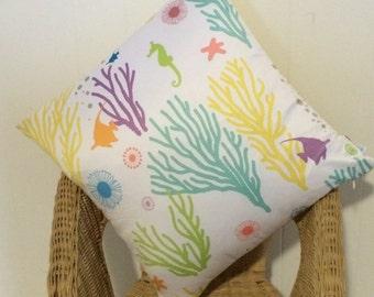 Modern & Bright Kid's Throw Pillow / Cushion Cover