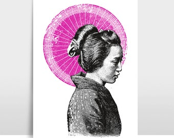 "Artprint ""Geisha"""