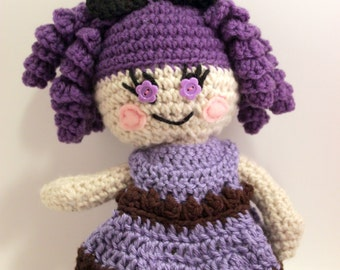 lovey and squeezeable crochet Lala Doll