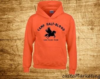 Camp Half-Blood HOODIE Demi-God Long Island Sound Hooded Sweatshirt Super Design S - 2XL