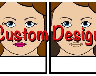 Face Paint Menu - Custom Design