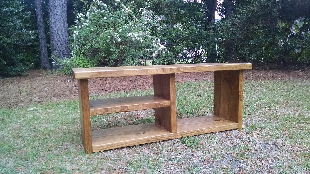Rustic Wood Bench Shoe Rack Bench And Boot By Coastaloakdesigns