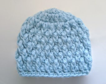 Newborn boy hat, crochet boy hat, baby boy hat, newborn hospital hat, newborn boy beanie, mohair baby hat, boy take home outfit